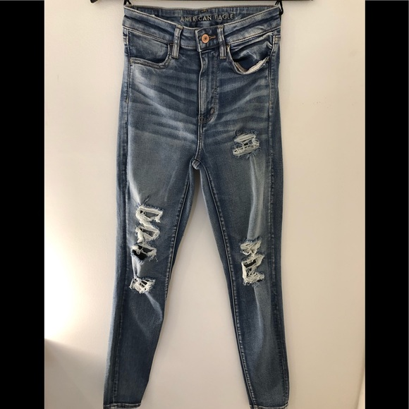 High waist AE Jean's